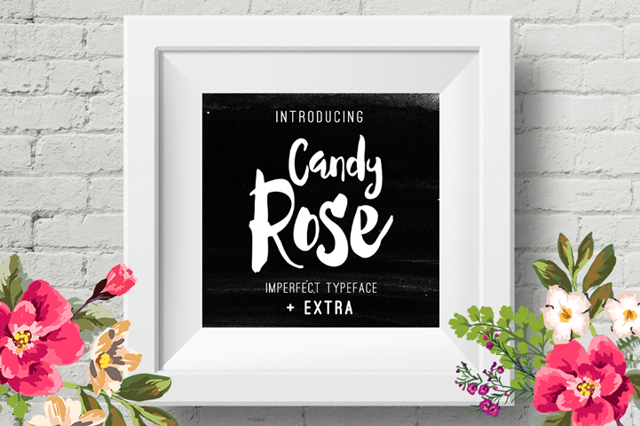 candy-rose-font