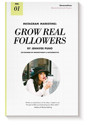 Instagram Marketing: Grow Real Followers – Jennifer Puno