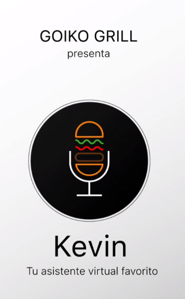 Goiko Grill Story. Kevin asistente